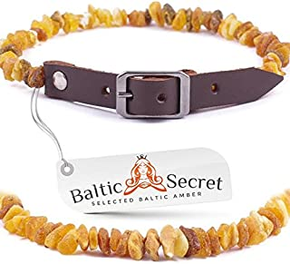 100/% Genuine Raw Baltic Amber//Natures Way of Protecting Your Four Leged Buddy//Size options from 20cm to 60cm //MLTpG46 REMIUM BALTIC AMBER COLLARS FOR DOGS AND CATS
