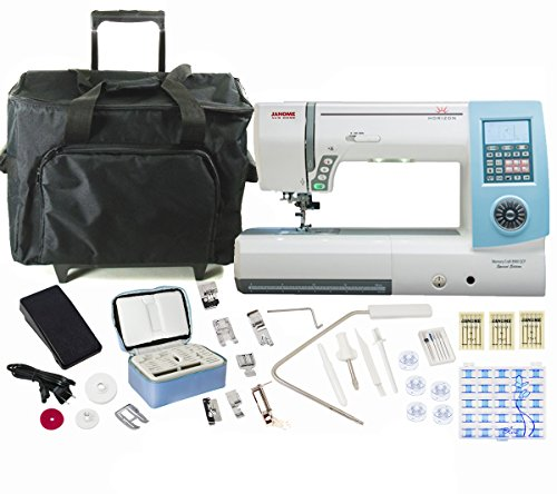 Janome Horizon Memory Craft 8900QCP Special Edition Sewing and Quilting Machine with Bundle by Janome