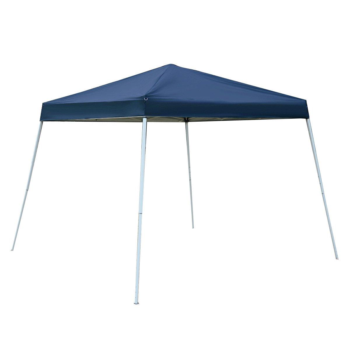 Amazon.com  Tangkula 10u0027X10u0027 EZ POP UP Tent Gazebo Wedding Party Canopy Shelter Carry Bag (Blue)  Sports u0026 Outdoors  sc 1 st  Amazon.com & Amazon.com : Tangkula 10u0027X10u0027 EZ POP UP Tent Gazebo Wedding Party ...