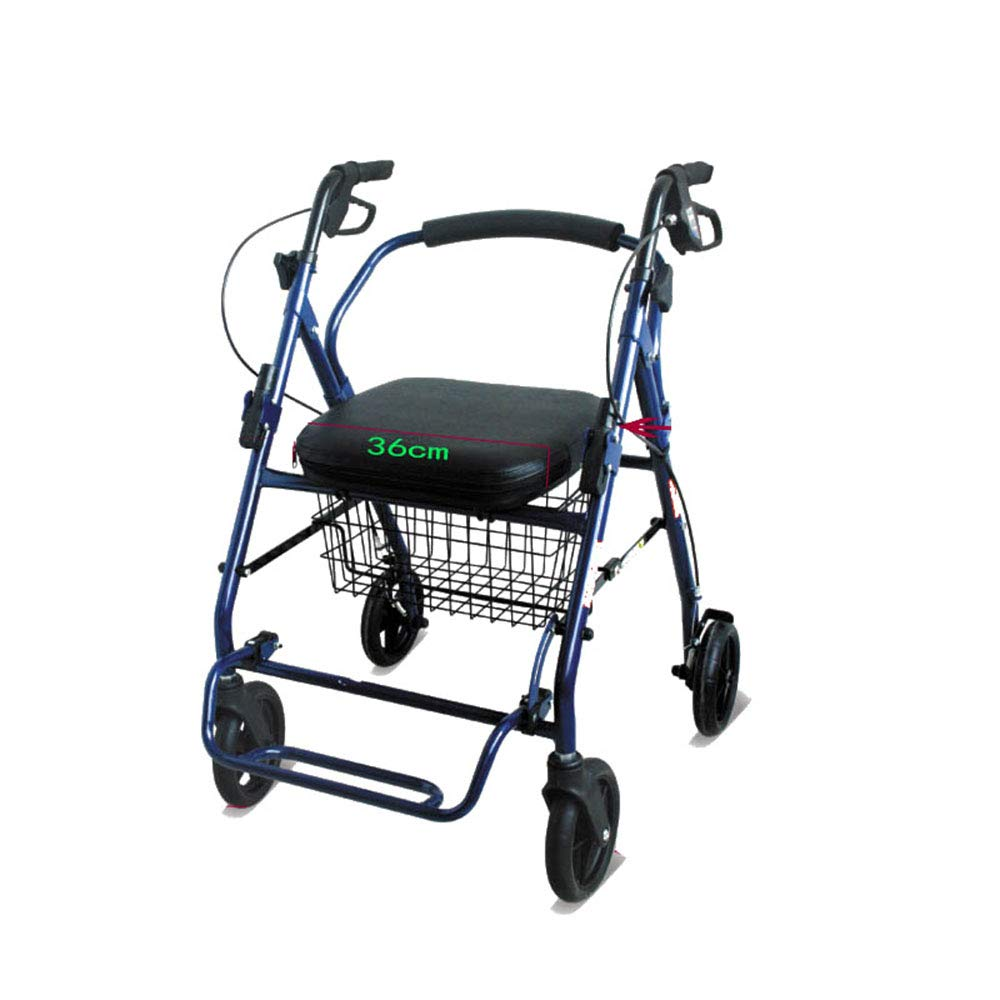 Carrito de compras para el ocio para personas mayores ...