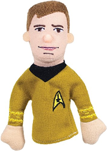 Star Trek Icons Captain Kirk - The Unemployed Philosophers Guild Captain Kirk Finger Puppet and Refrigerator Magnet - Original Star Trek - For Kids and Adults
