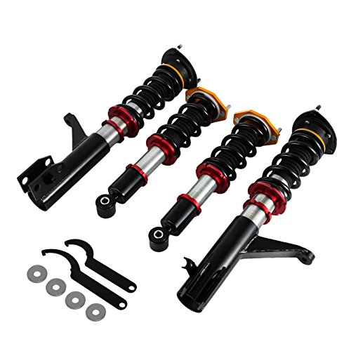 Mophorn Suspension Coil Spring Full Set for Honda Accord 2003-2007 Coilover Suspenion kit Height...