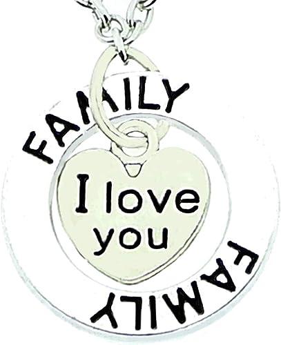 collier femme famille