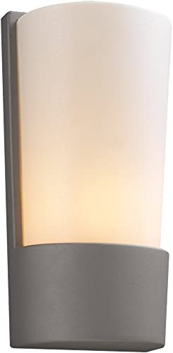 PLC Lighting 1721 SL Outdoor Fixture, Chimera Collection, Silver Finish