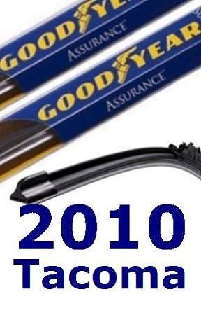 2010 Toyota Tacoma repuesto parabrisas limpiaparabrisas (2 cuchillas): Amazon.es: Coche y moto