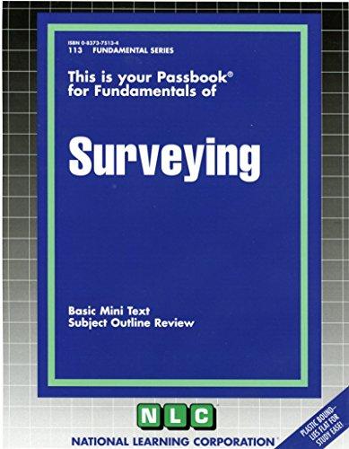 Surveying: Basic Mini Text, Subject Outline Review (Fundamental Passbooks) ()