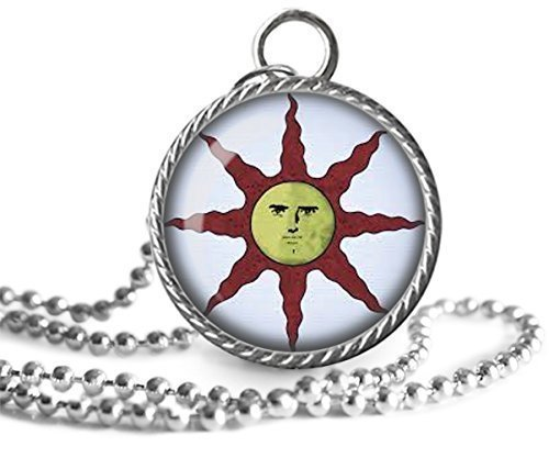 Amazon dark souls solaire of astora sun necklace dark souls of dark souls solaire of astora sun necklace dark souls of astora sun pendant key chain aloadofball Choice Image