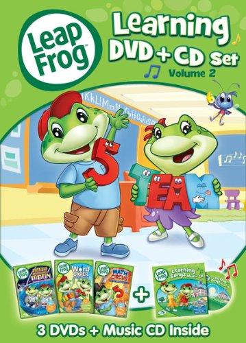 LeapFrog: LearningSet, Volume Two (Three-Disc DVD + CD) (Set Leapfrog)