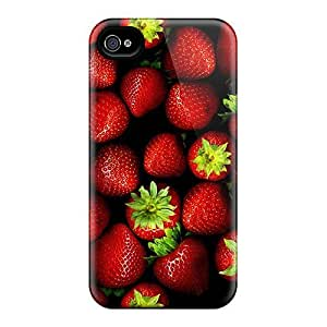 New FtFpyqL2892ogWrH Strawberries 2 Skin Case Cover Shatterproof Case For Iphone 4/4s by Maris's Diary