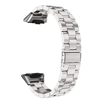Correas Reloj de Acero Inoxidable Compatible con Samsung ...