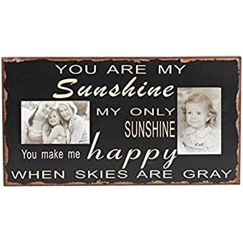 attraction design you are my sunshine wood chunky frame - You Are My Sunshine Frame