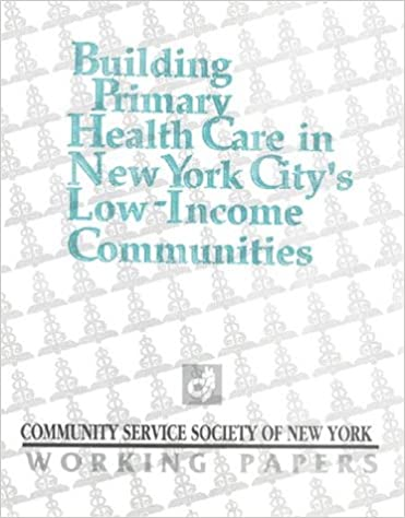 Amazon com: Building Primary Health Care in New York City's
