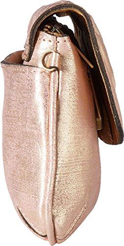 Womens Crossbody Metallic Clutch Nash Baku Patricia Pink Bq845