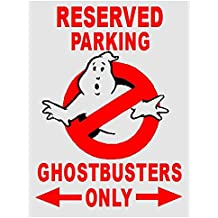 Ghostbusters Parking Sign