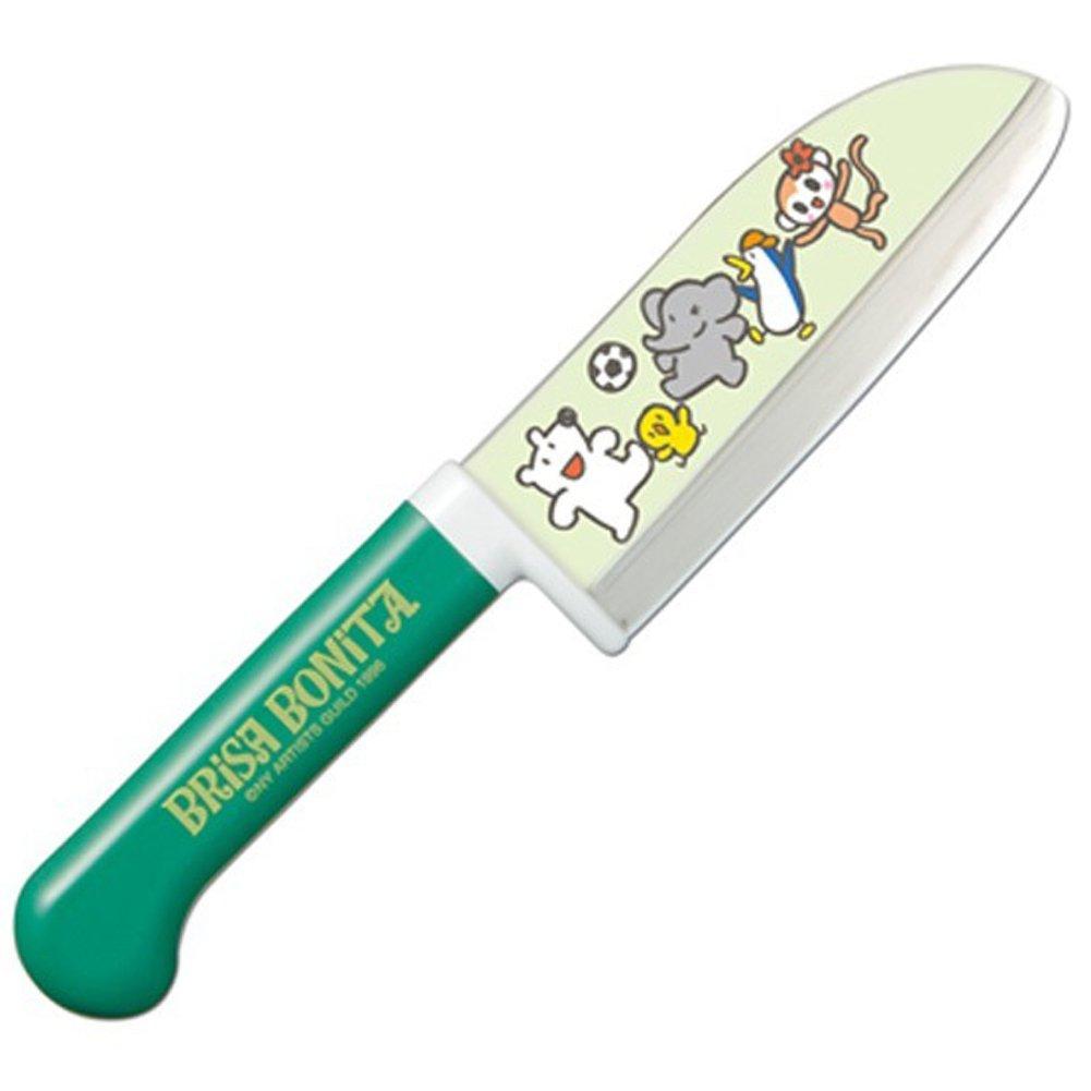 Gr/ün Brisa Bonita Kinder Kochmesser Kindermesser