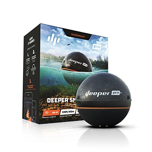 【日本正規代理店品・保証付】Deeper Pro+ ワイヤレススマートGPS魚群探知機(Wi-Fi + GPS) Wireless Fishfinder FRI-BT-000004の商品画像