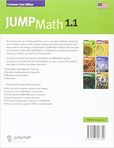 Amazon.com: JUMP Math AP Book 1.1: US Common Core Edition ...
