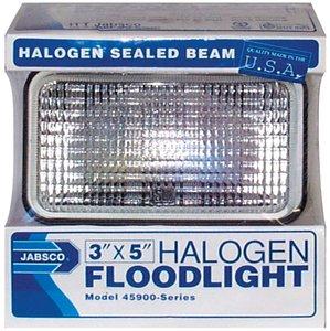 Tungsten Halogen Floodlight (Spare 50w 4 Amp Bulb - 12v For Itt 45900 Series) By Itt Jabsco -