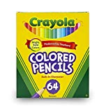 Toys : Crayola Colored Pencils, 64 Count, Adult Coloring
