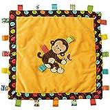 Mary Meyer Taggies Dazzle Dots Cozy Blanket, Monkey