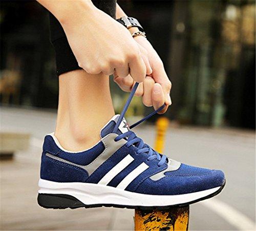 Unisex Running Deportes Zapatillas de Deportivo Calzado Adulto mogeek Azul BqIFPgB