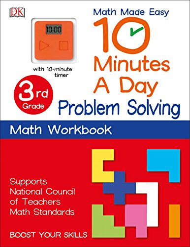 - 10 Minutes a Day: Problem Solving, Third Grade: Supports National Council of Teachers Math Standards