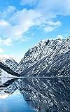 """Notebook: Fjord River Norway Norwegian 5"""" x 8"""" 150"""