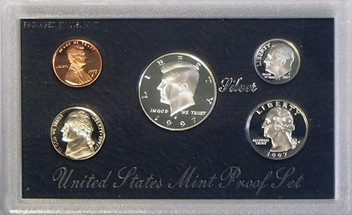 Proof Set with all of the Original Mint Packaging 1997 U.S