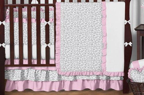 Amazon.com: Sweet Jojo Designs rosa y gris Kenia bebé niña ...