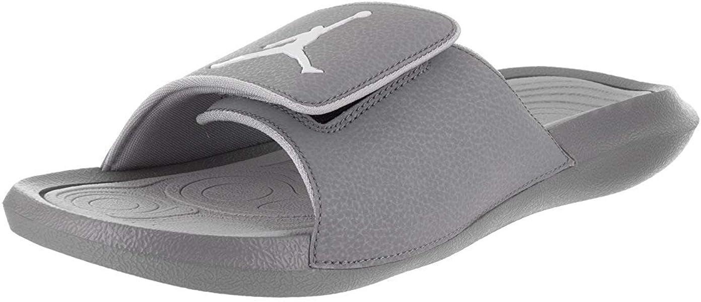 d736c1e768388 Nike Jordan Hydro 6 Black White Wolf Grey Men s Sandals Size 9