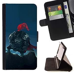 Momo Phone Case / Flip Funda de Cuero Case Cover - Americana Caballero;;;;;;;; - Sony Xperia M5
