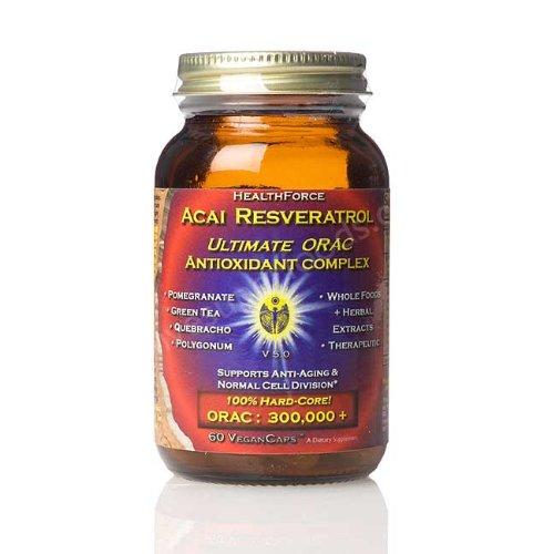 ProfessionsSantéOntario Acai resvératrol antioxydant ultime Orac Extreme, 360 Vegancaps