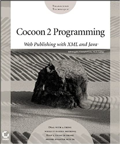 cocoon 2 programming web publishing with xml and java bill brogden