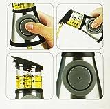Authentic Elemental Kitchen 17oz Oil & Vinegar Dispenser - Press & Measure - no drip spout
