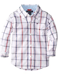 Baby Boys' Long Sleeve Plaid Shirt
