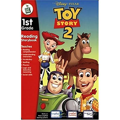 First Grade LeapPad Book: Toy Story 2: Office Products