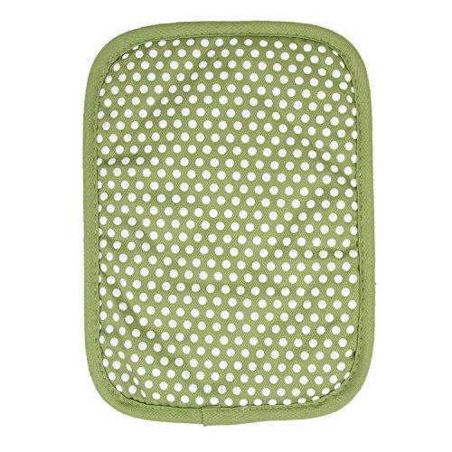 - RITZ Royale Reversible Non-Slip Grip Silicone Dot Cotton Twill Pot Holder, Cactus Green