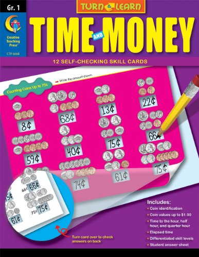 Time and Money, Turn & Learn Gr. 1