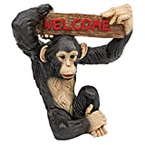 Cheap Design Toscano Monkey Business Jungle Welcome Statue