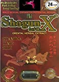 Shogun-X 1500 - 24 Pill 'WOW' FOR A NIGHT YOU'LL NEVER FORGET AND WILL LEAVE YOUR PARTNER BEGGING FOR MORE PLUS FREE LOVE POTION EXCLUSIVE PEN