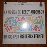 Music of Leroy Anderson Conducted By Frederick Fennell, Vol 4 (Spanish Texts)