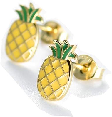 pine apple earring