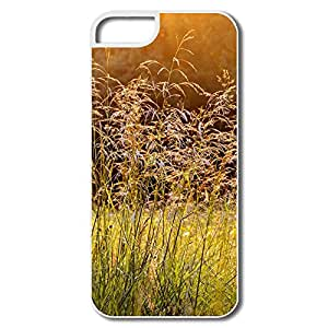 Hot Sell Customize Hard Covers Morning Dew Grass Design Your Own Cover For Iphone 5/5s
