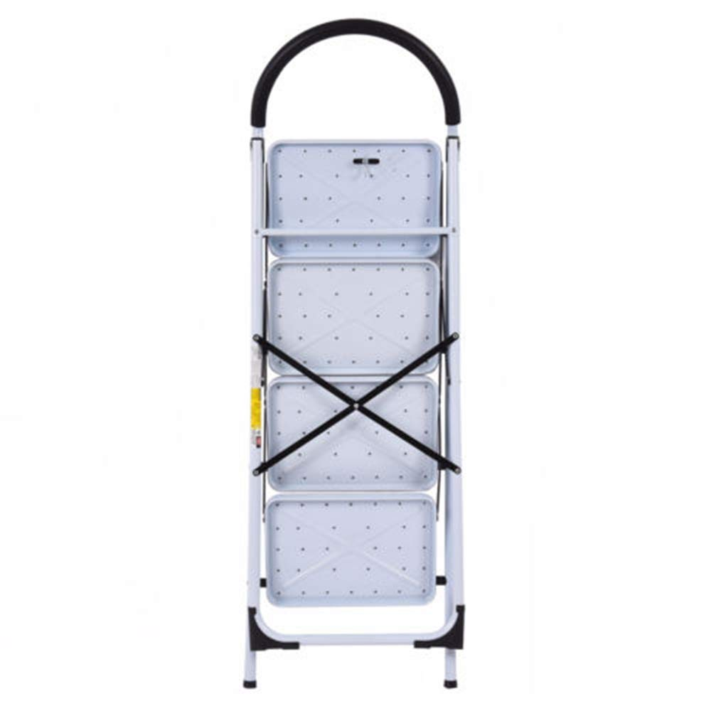 MY HOPE Ladder Fordable Heavy Duty Supported load 330 Lbs 4 Step Industrial Lightweight. by MY HOPE (Image #7)