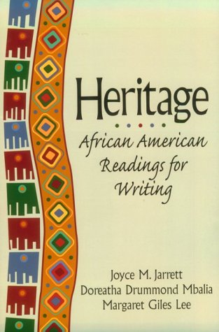 Search : Heritage: African American Readings for Writing