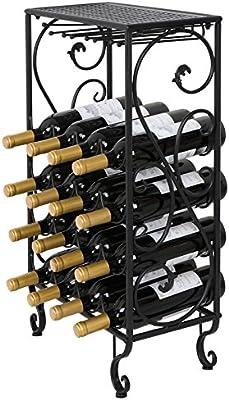 Amazon.com: smartxchoices 23 – 54 botellas de hierro forjado ...