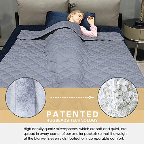 """Weighted Kids -  Patented   Cotton 48""""x72""""  for   Size 3-Year Warranty"""