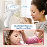 Digital Forehead Thermometer, No Touch Infrared