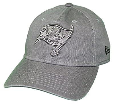 New Era Tampa Bay Buccaneers NFL 9Twenty Classic Tonal Adjustable Graphite Hat by New Era