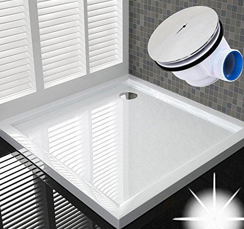 Neu Details zu 100x100 Duschtasse Duschwanne Flach Wanne H 6 cm Für  IL18